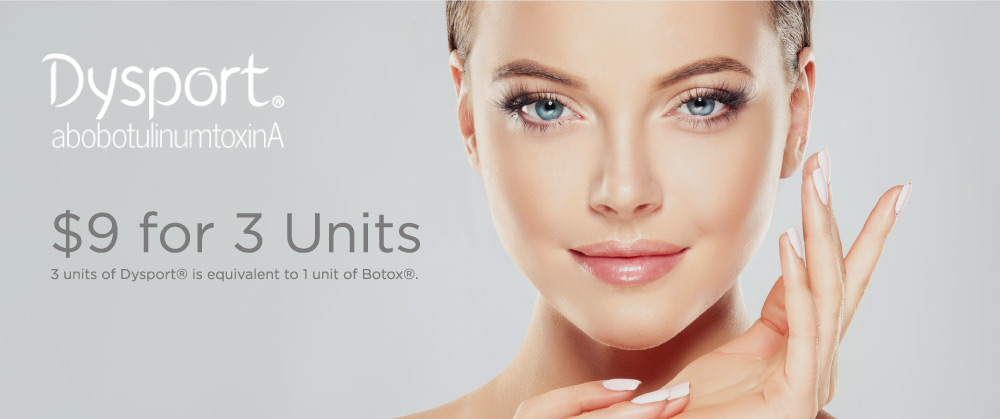 wichita plastic surgeon disport cosmetic injectables special
